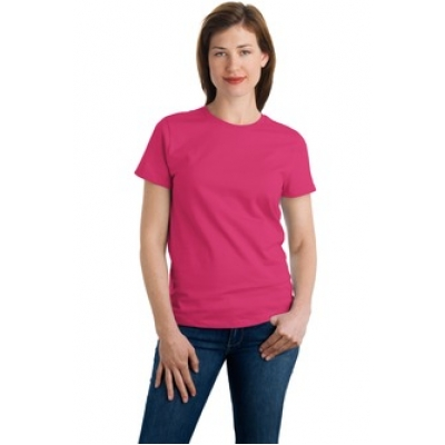 Port company ladies essential t shirt for T shirt printing in lufkin tx