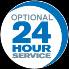 FREE 24 Hour Service. Restrictions apply.