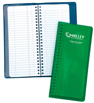Wire Bound Tally Book 3308