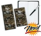 New Oilfield Camo Design Tally Book