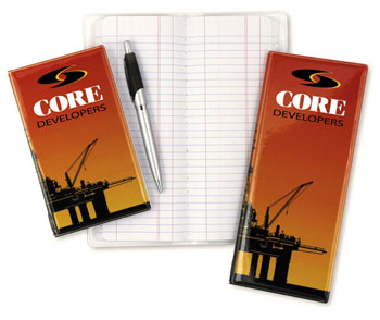 Custom Pipe Tally Books Business Gift Blog Quality