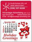 Small Stick-On Calendar
