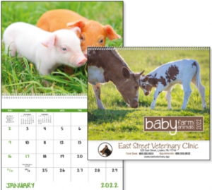 Baby Farm Animals Promotional Calendar