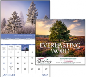 Everlasting Word promotional calendar
