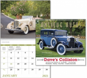 Antique Autos Calendar