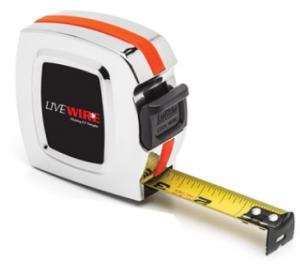 Lufkin 25' Chrome Legacy Tape Measure