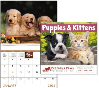 Puppies & Kittens Calendar
