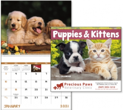 Puppy & Kitten Promotional Calendar