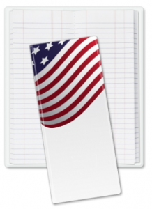 American Flag Tally Book