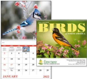 Birds of North America Promotional Calendar