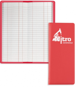 Flexible Tally Book with Sewn Pad