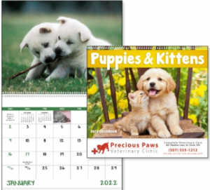 Puppies & Kittens Promotional Calendar